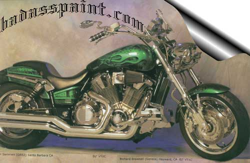Green Custom Motorcycle Paint Jobs Custom Motorcycle Paint Jobs