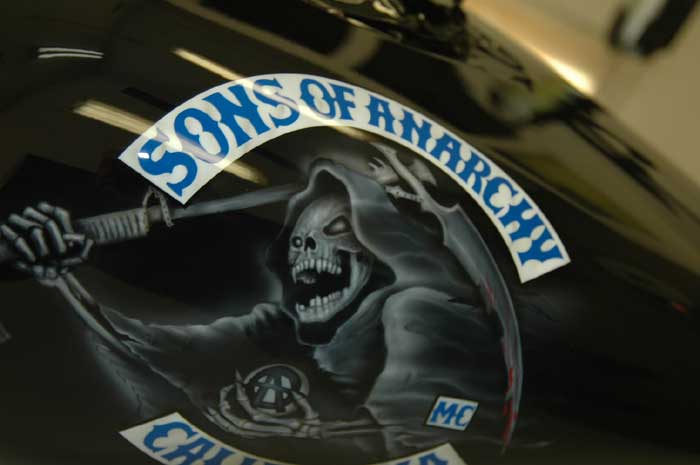 sons of anarchy paint job