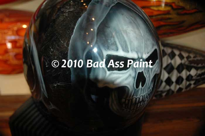 custom paint helmet