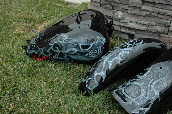 Tribal And Celtic Custom Airbrush Paint Jobs