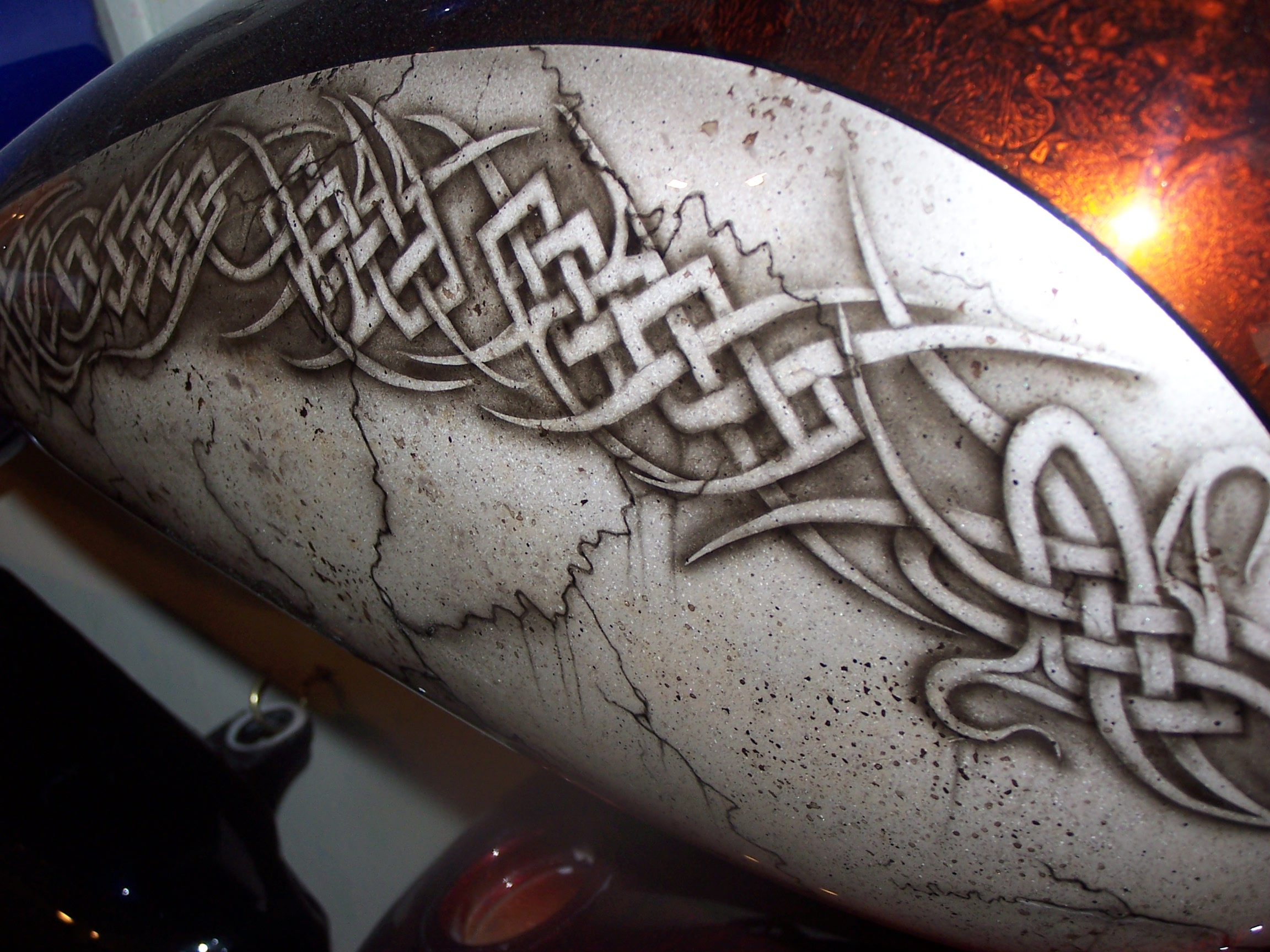 Custom Airbrush Motorcycle Helmets Pictures Picture Pictures : celtic 1000955 Helmet Design <strong>for Tribal</strong> from www.tattoopinners.com size 2304 x 1728 jpeg 792kB
