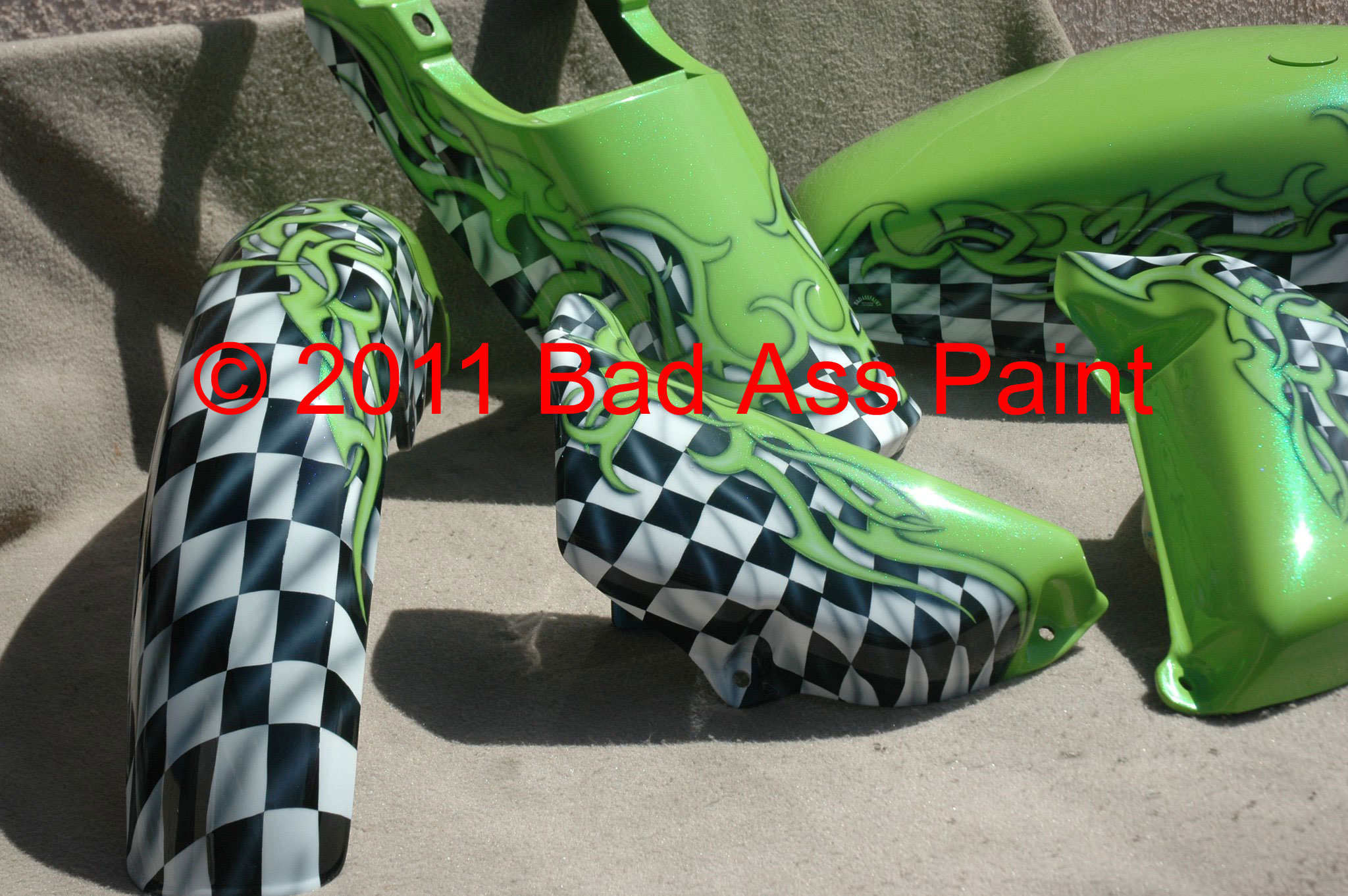custom airbrush paint graphics
