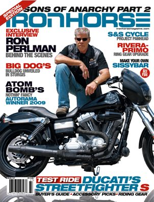 Iron Horse motorcycle magazine issue 127 from 2009