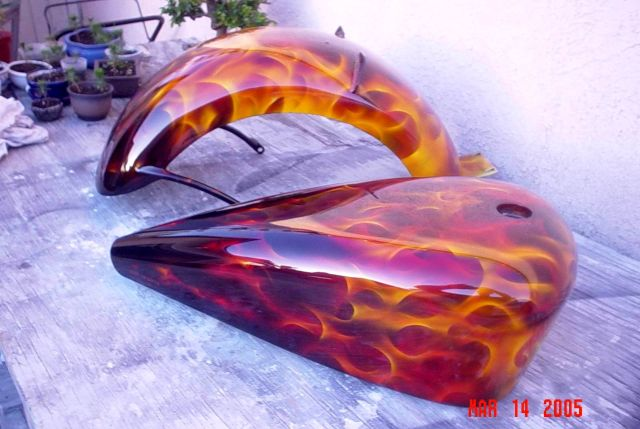 Flame Designs For Motorcycles