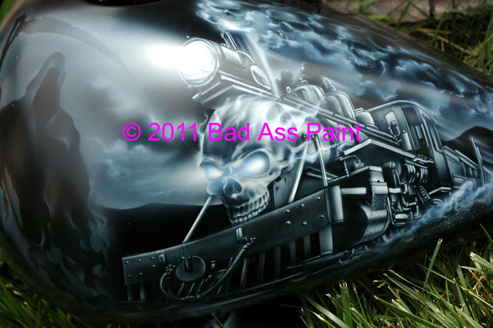 reaper train motorcycle design