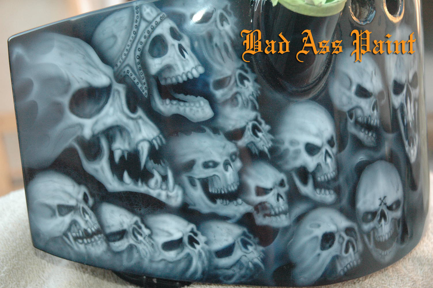 Bad Ass Paint - Custom Paint - Skull Designs 1504 x 1000 · 611 kB · jpeg