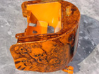 motorcycle design orange skulls