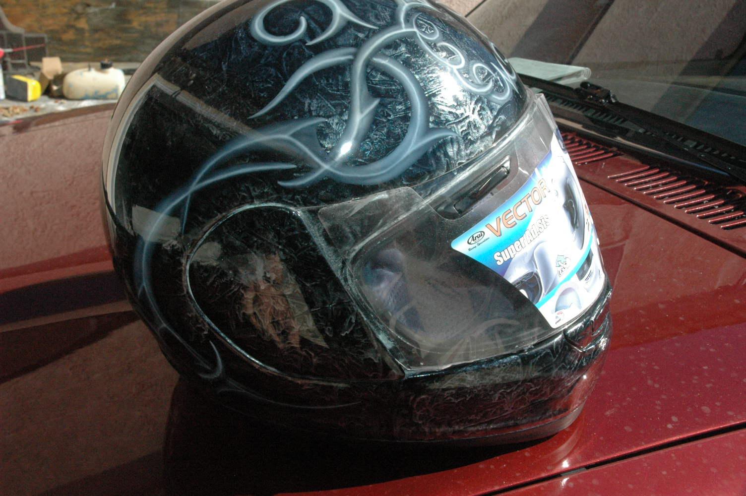 Custom Welding Helmet Paint Jobs
